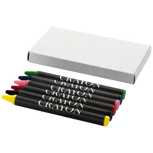 6-piece crayon set