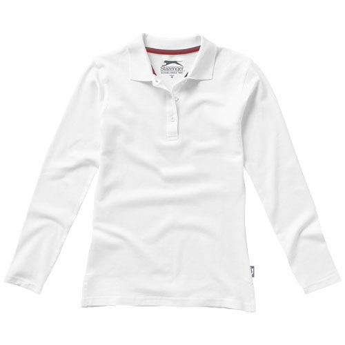 Point Long Sleeve Ladies Polo