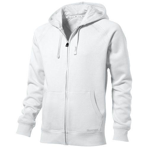 Race Hooded Full Zip Sweater