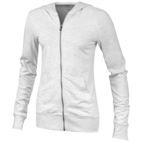 Garner Full Zip Hooded Ladies Sweater