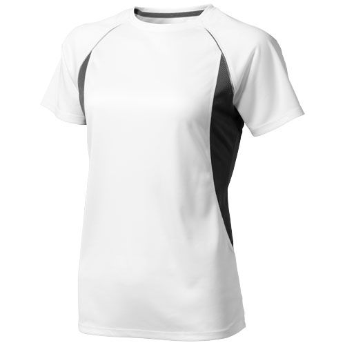 Quebec Short Sleeve Ladies T-Shirt