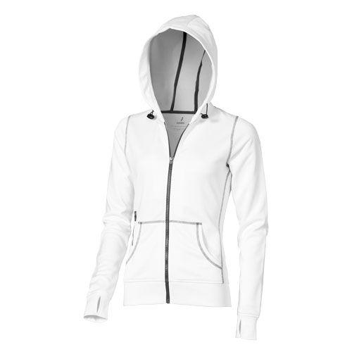 Moresby Hooded Full Zip Ladies Sweater