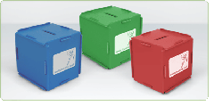 Green & Good Money Box Cube