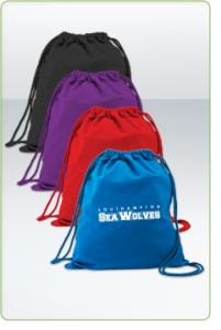 Green & Good Coloured Columbia Drawstring Backpack - Cotton