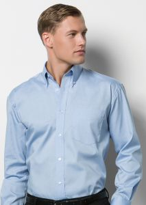 Kustom Kit Corporate Oxford Long-sleeved Shirt